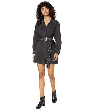 Current/Elliott The Studded Debbie Shirtdress