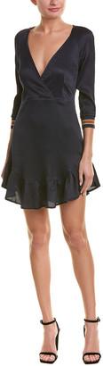 Avon Cosette Silk-Blend A-Line Dress