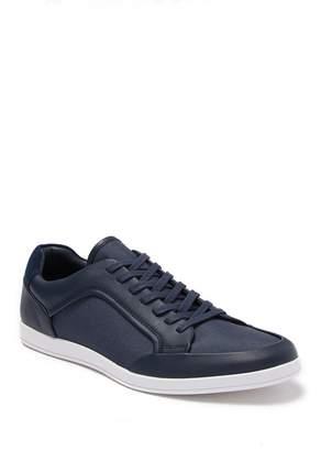 Calvin Klein Maxen Leather Lace Up Sneaker