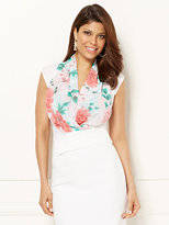 New York & Co. Eva Mendes Collection - Mila Bodysuit - Floral