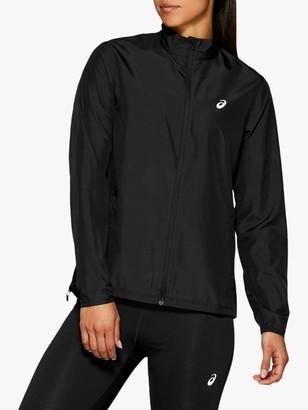 Asics Silver Women's Running Jacket, Performance Black