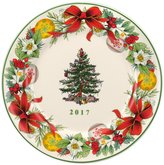 Spode Christmas Tree 2017 Annual Collector s Plate
