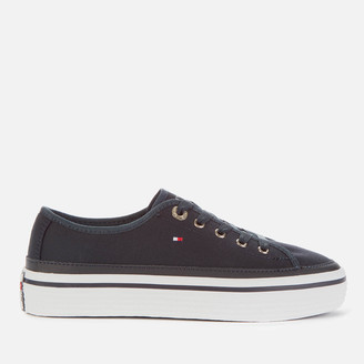 Tommy Hilfiger Women's Kelsey Corporate Flatform Trainers - Midnight