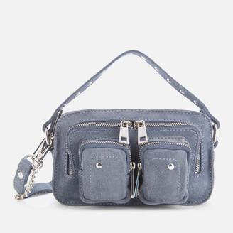Nunoo Women's Helena Suede Cross Body Bag - Blue