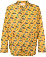 Palm Angels Islands-print coach jacket