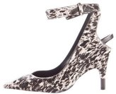 Tom Ford 2016 Printed Ponyhair Pumps