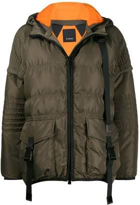 Pinko padded cropped jacket