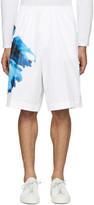 DSQUARED2 White Flower Print Shorts