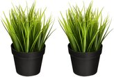 Ikea Artificial Potted Plant Wheat Grass 7.75 Lifelike Nature Houseplant