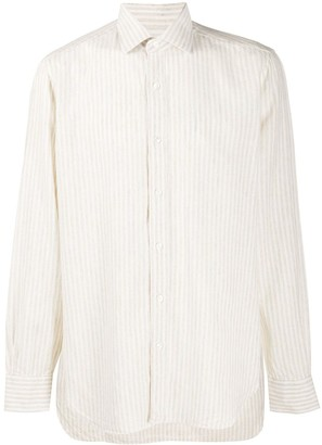 Barba Striped Long Sleeved Shirt
