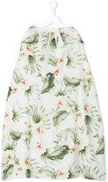 Opililai - floral print skirt - kids - Cotton - 2 yrs