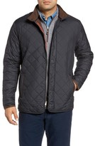 Peter Millar Men's Suffolk Quilted Water-Resistant Car Coat