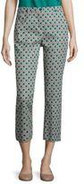 Max Mara Vadet Diamond Printed Cropped Pants