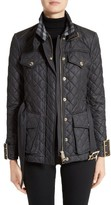 Burberry Women's Haddingfield Quilted Field Jacket