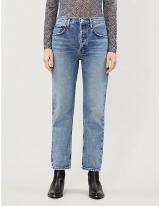 AGOLDE Ripley mid-rise denim jeans