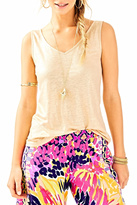 Lilly Pulitzer Gigi Sleeveless Tank Top