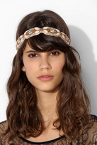 Deepa Gurnani Almond Ivory Headwrap
