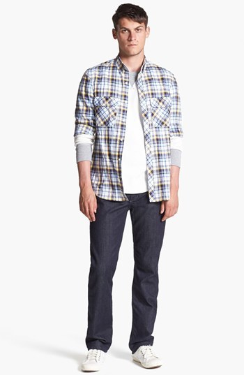 French Connection 'Thames Valley' Slim Fit Sport Shirt