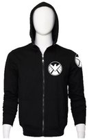 XCOSER Womens Hoodie The Avengers S.H.I.E.L.D. Logo Winter Soldier Sweatshirt M