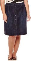 Liz Claiborne Liz ClaiborneA-Line Midi Skirt - Plus