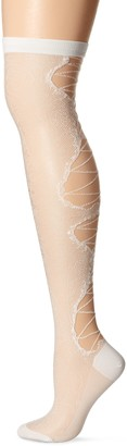 Ozone Women's Lace up Over the Knee Sock