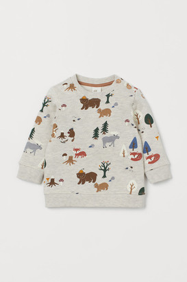 H&M Sweatshirt with a motif