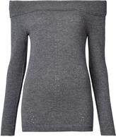 Nicole Miller off-shoulder jumper
