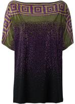 Versace studded blouse - women - Spandex/Elastane/Viscose - 44