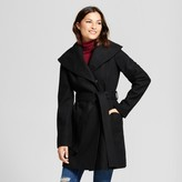 Mossimo Women's Wool Shawl Collar Wrap Coat - A New Day