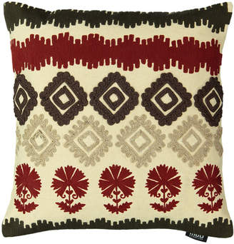 "Mod Lifestyles Southwest Collection Navajo Aztec Embroidery Pillow, 20"" X 20"""