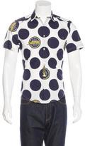 Kenzo Polka-Dot Print Shirt