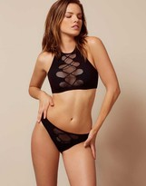 Agent Provocateur Hatty Bikini Bottom Black