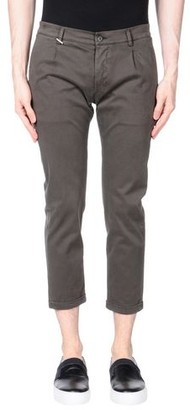 Grey Daniele Alessandrini 3/4-length trousers