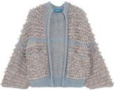 MiH Jeans Alice Bouclé-knit Cardigan - Gray