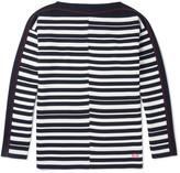 Loewe - Boat-neck Striped Wool Sweater