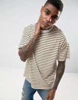 Asos Oversized Retro Stripe T-shirt