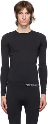 Rick Owens Black Performa FW20 Long Sleeve T-Shirt