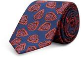 Ted Baker Lovbird Paisley Heart Skinny Tie