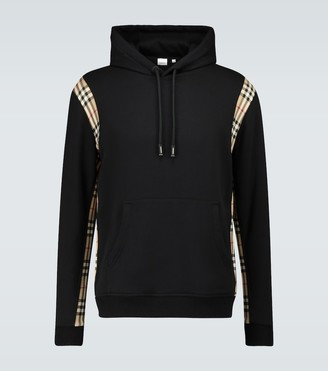 Burberry Checker hooded sweatshirt