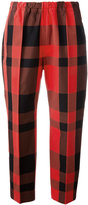 Sofie D'hoore Piano cropped trousers - women - Cotton - 38