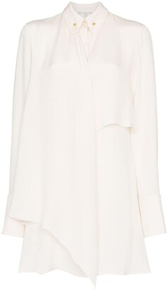 Stella McCartney Pin-Collar Shirt Dress