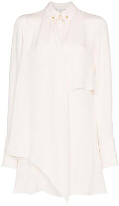 Stella McCartney pin-collar shirt dress