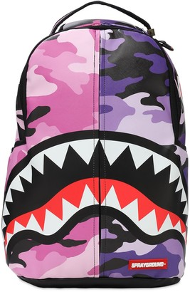 Sprayground Split Camo Backpack