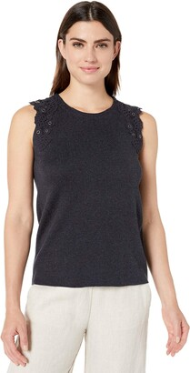 Nic+Zoe Women's Sleeve LACE Tank