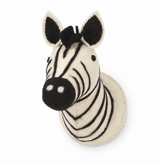 Mud Pie Felt Mini Safari Wall Mount Zebra