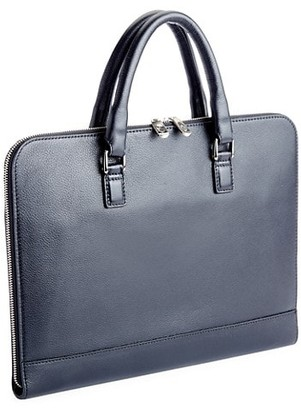 Royce Leather Executive Grained Leather Laptop Briefcase