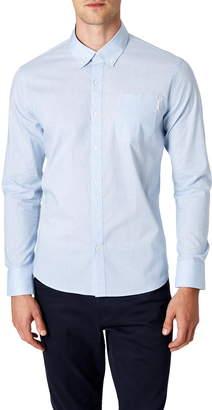 7 Diamonds Blurred Lines Slim Fit Button-Down Shirt