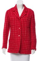 Chanel Bouclé Wool Blazer