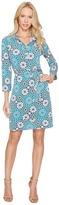 Donna Morgan 3/4 Sleeve Jersey Shirtdress Women's Dress