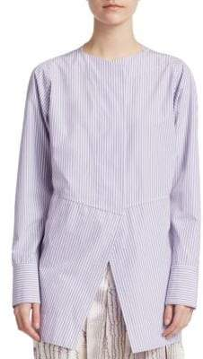 Victoria Beckham Stripe Open Back Shirt
